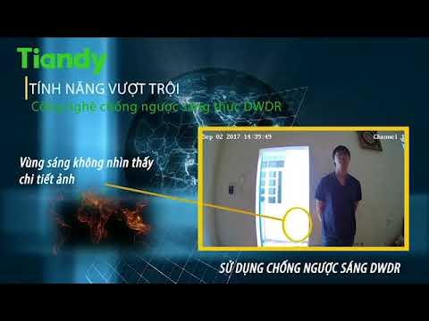 camera Tiandy chong nguoc sang